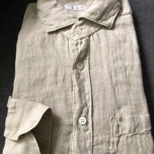 Glanshirt by Slowear Men's Cotton Casual Shirt